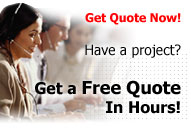 Get quote on your project now!